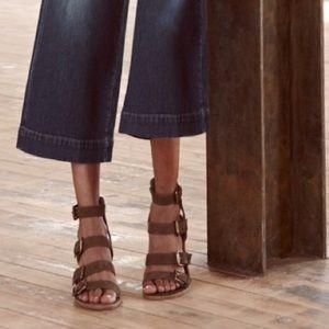 Madewell Greta Gladiator Heeled Sandal